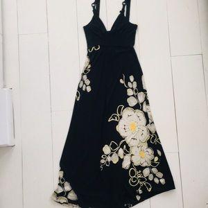 Elie Tahari Black Maxi Dress